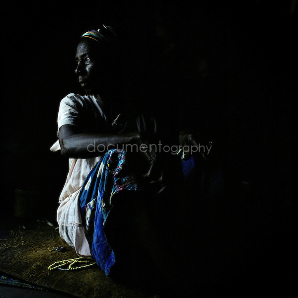 Nanyinpoa has lived for 3 years in the camp. She has been accused by her own family to be a witch. Her husband told her she deserved this situation. When she arrived in the camp, her sister was already there as being accused of witchcraft. Since then she leaves to God the responsability to decide if she is a witch or not.