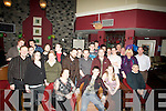 BIRTHDAY: Philip Conway Ard Carrig, Caherslee who celebrated his 21st Birthday in O'Donnells Bar & Restauyrant on Friday night with his Family, girlfriend and friends, (Philip is seated 2nd from left)...... ....