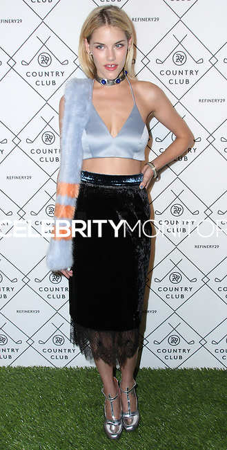 NEW YORK CITY, NY, USA - SEPTEMBER 04: Ashley Smith arrives at the Refinery29 Country Club Launch & NYFW Kick-Off Party held at 82 Mercer on September 4, 2014 in New York City, New York, United States. (Photo by Jeffery Duran/Celebrity Monitor)