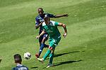 11.01.2019, Bidvest Stadion, Braampark, Johannesburg, RSA, FSP, SV Werder Bremen (GER) vs Bidvest Wits FC (ZA)<br /> <br /> im Bild / picture shows <br /> <br /> <br /> Vuyo vs Max Kruse (Werder Bremen #10)<br /> Foto © nordphoto / Kokenge