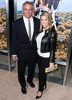 BEVERLY HILLS, CA, USA - NOVEMBER 19: Robert F. Kennedy, Jr., Cheryl Hines arrive at the Los Angeles Premiere Of Fox Searchlight Pictures' 'Wild' held at the AMPAS Samuel Goldwyn Theater on November 19, 2014 in Beverly Hills, California, United States. (Photo by Xavier Collin/Celebrity Monitor)