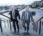 Derek Ferguson of Brechin and Ewan Cameron of Alloa SFL board members