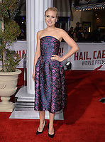 Actress Alison Pill at the world premiere of her movie &quot;Hail Caesar!&quot; at the Regency Village Theatre, Westwood.<br /> February 1, 2016  Los Angeles, CA<br /> Picture: Paul Smith / Featureflash