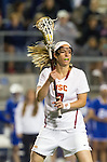 Costa Mesa, CA 02/20/16 - Amanda Johansen (USC #7) in action during the Duke vs USC NCAA Women Division I game at Orange Coast College during the inaugural Orange County Winter Invitational.  18 ranked USC defeated 5th ranked Duke 11-5.