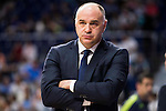 Real Madrid's coach Pablo Laso during Liga Endesa 2015/2016 Finals 4th leg match at Barclaycard Center in Madrid. June 20, 2016. (ALTERPHOTOS/BorjaB.Hojas)