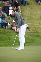 Rory McIlroy (NIR) makes progress at the 9th hole during Round Two of the 100th Open de France, played at Le Golf National, Guyancourt, Paris, France. 01/07/2016. Picture: David Lloyd | Golffile.<br /> <br /> All photos usage must carry mandatory copyright credit (&copy; Golffile | David Lloyd)
