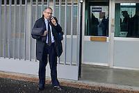Roma, 19 Novembre 2015<br /> Alessandro Diddi, , avvocato difensore di Salvatore Buzzi.<br /> Aula bunker di Rebibbia<br /> Terza udienza del processo Mafia Capitale,