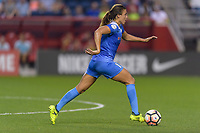 Bridgeview, IL - Wednesday August 16, 2017: Sofia Huerta during a regular season National Women's Soccer League (NWSL) match between the Chicago Red Stars and the Seattle Reign FC at Toyota Park. The Seattle Reign FC won 2-1.