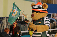 Ealing Trailfinders mascot ahead of the Greene King IPA Championship match between Ealing Trailfinders and London Welsh RFC at Castle Bar , West Ealing , England  on 26 November 2016. Photo by David Horn / PRiME Media Images