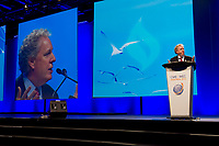 21st World Energy Congress at the Palais des Congres in Montreal, opening ceremony, speech by the Premier of Quebec Mr. Jean Charest, Sept 12, 2012<br /> PHOTO :  Agence Quebec presse