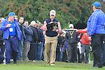 2010 Ryder Cup at the Celtic Manor twenty ten course, Newport Wales, 30/9/2010 Practice Day 3..Zach Johnson sign autographs.Picture Fran Caffrey/www.golffile.ie.