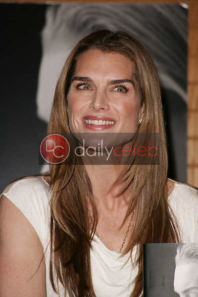 """Brooke Shields<br /> at an in-store appearance to sign copies of her book """"Down Came the Rain,"""" Borders Books, Torrance, CA 05-07-05<br /> David Edwards/DailyCeleb.Com 818-249-4998"""