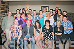 21ST WISHES: Ciara Griffin, Ballinorig, Tralee (seated centre) had a smashing time celebrating her 21st birthday in Kirby's Brogue, Tralee last Saturday night with her parents John and Rita and many friends  and family.
