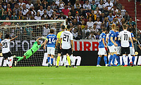 goal, Tor zum 5:0 für Marco Reus (Deutschland, Germany) durch direkten Freistoss - 11.06.2019: Deutschland vs. Estland, OPEL Arena Mainz, EM-Qualifikation DISCLAIMER: DFB regulations prohibit any use of photographs as image sequences and/or quasi-video.