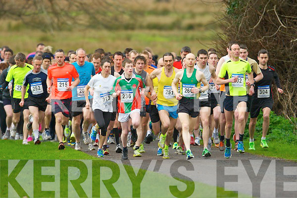 The runners take off at the start of the 5km in Killarney on Saturday.