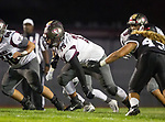 Lawndale, CA 09/29/17 - Juan Gomez (Torrance #75) in action during the Torrance vs Lawndale CIF Varsity football game at Lawndale High School.   Lawndale defeated Torrance 42-0.