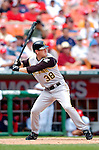 30 June 2005: Jason Bay, outfielder for the Pittsburgh Pirates, at bat during a game against the Washington Nationals. The Nationals defeated the Pirates 7-5 to sweep the 3-game series at RFK Stadium in Washington, DC.  Mandatory Photo Credit: Ed Wolfstein