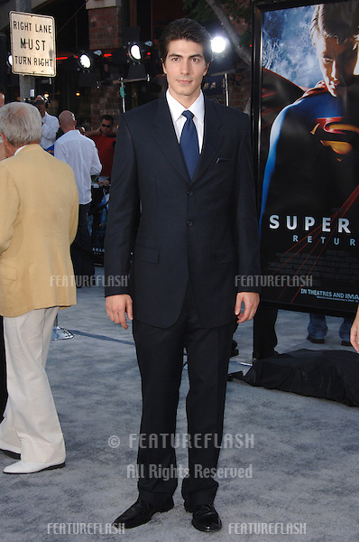 "Actor BRANDON ROUTH at the world premiere of his new movie ""Superman Returns"" in Los Angeles..June 21, 2006  Los Angeles, CA.© 2006 Paul Smith / Featureflash"