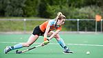 HUIZEN  -   Willemijn Bos (Gro) , hoofdklasse competitiewedstrijd hockey dames, Huizen-Groningen (1-1)   COPYRIGHT  KOEN SUYK