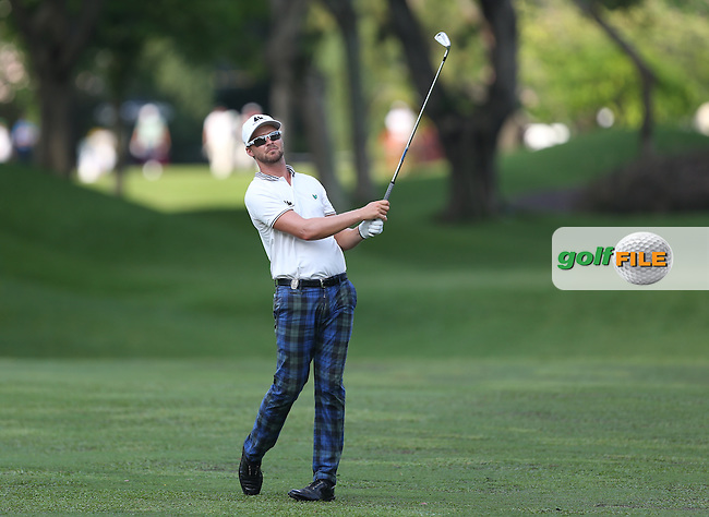 Rikard Karlberg (SWE) added a 70 to his total (-8) during Round Three of the The Championship 2014 from the Laguna National Golf & Country Club, Tampines, Singapore. Picture:  David Lloyd / www.golffile.ie