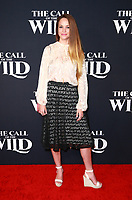 HOLLYWOOD, CA - FEBRUARY 13; Alexis Knapp at The Call Of The Wild World Premiere on February 13, 2020 at El Capitan Theater in Hollywood, California. Credit: Tony Forte/MediaPunch
