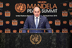 Opening Plenary Meeting of the Nelson Mandela Peace Summit<br /> <br /> <br /> His Excellency Mamuka BAKHTADZEPrime Minister of Georgia