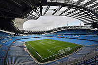 General view of the Etihad stadium during the Premier League match between Manchester City and Swansea City at the Etihad Stadium, Manchester, England. Sunday 05 February 2017