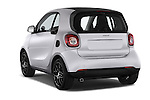 Car pictures of rear three quarter view of 2016 Smart fortwo prime 3 Door Micro Car Angular Rear