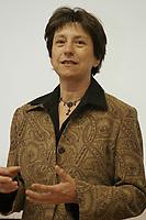 February, 2006, Montreal (Qc) CANADA<br /> Francoise David, Quebec Solidaire<br /> <br /> Photo : Delphine Descamps - AQP