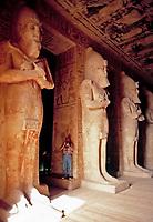 EGY, Aegypten, Abu Simbel: Osiris Pfeiler | EGY, Egypt, Abu Simbel: Osiris pillars