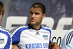 11 July 2009: Kansas City's Graham Zusi. The New England Revolution played the Kansas City Wizards to a 0-0 tie at Gillette Stadium in Foxboro, Massachusetts in a regular season Major League Soccer game.