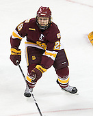 Wade Bergman (Duluth - 28) - The University of Minnesota-Duluth Bulldogs defeated the Union College Dutchmen 2-0 in their NCAA East Regional Semi-Final on Friday, March 25, 2011, at Webster Bank Arena at Harbor Yard in Bridgeport, Connecticut.