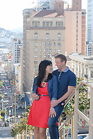 San Francisco engagements and weddings at Grace Cathedral on Nob Hill.  Romantic engagement portraits at Lands End, Point Lobos and Sutro Baths.