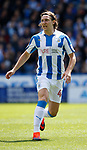 Michael Hefele of Huddersfield Town during the English Championship play-off 1st leg match at the John Smiths Stadium, Huddersfield. Picture date: May 13th 2017. Pic credit should read: Simon Bellis/Sportimage