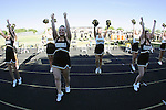 Palos Verdes, CA 11/06/09 - The Peninsula Song & Cheer squad members in action during the Mira Costa-Peninsula football game.  Images were captured with remote camera.