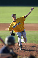 September 15,2009:  Genesee Community College (GCC) Cougars Men's Baseball team vs. Team New Era Travel at Dwyer Stadium in Batavia, NY.  Photo Copyright Mike Janes Photography 2009
