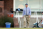 09 October 2014: UNC head coach Anson Dorrance. The University of North Carolina Tar Heels hosted the Wake Forest University Demon Deacons at Fetzer Field in Chapel Hill, NC in a 2014 NCAA Division I Women's Soccer match. UNC won the game 3-0.