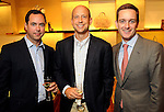 From left: Brian Bravo, John Seaberg and John Bresnahan at an evening honoring The Houston Symphony Young Associates Council at the Louis Vuitton store in the Galleria Thursday August 15, 2013.(Dave Rossman photo)