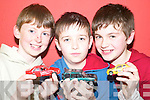 Car mad: Having a great time at the Family Fun Day at the Con Colbert .Memorial Hall in Athea on Monday were Timothy Tierney, Ben Thornton and .Thomas O'Flaherty..   Copyright Kerry's Eye 2008