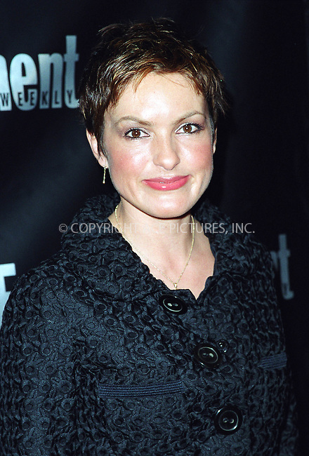 MARISKA HARGITAY attending the Entertainment Weekly's 8th Annual Academy Awards Viewing Party at Elaine's Restaurant in New York. March 24, 2002.  © 2002 by Alecsey Boldeskul/NY Photo Press.   ..*PAY-PER-USE*      ....NY Photo Press:  ..phone (646) 267-6913;   ..e-mail: info@nyphotopress.com