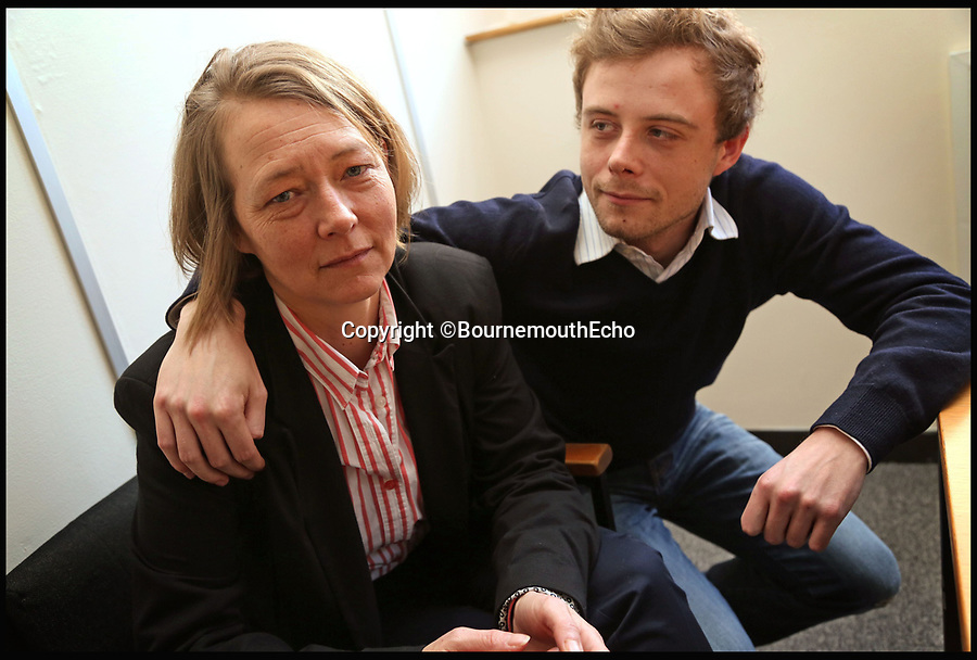 Bmth News (01202) 558833<br /> Pic: SallyAdams/BNPS<br /> <br /> Samantha Gillingham with her son Neil.<br /> <br /> A grieving daughter has today spoken of her outrage that her father could be released from prison later this year without having told her what he did with her mother's body.<br /> <br /> Russell Causley has spent 21 years in prison for the 1985 murder of his wife Carole Packman, becoming one of the first killers in UK history to be found guilty without his victim's remains ever being found. <br /> <br /> Causley was jailed 11 years after Carole's disappearance following confessions to cellmates while serving time in prison for fraud - a sentence he was handed after a lavish attempt to fake his own death as part of an insurance scam in 1993. <br /> <br /> Carole's daughter Samantha Gillingham, 48, successfully pleaded with the Parole Board in 2014 to keep Causley incarcerated, but is now braced for a fresh parole hearing on a date that is yet to be set between September and January.