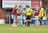 19/04/2016 Sky Bet League Championship  Burnley v Middlesbrough<br /> Dean Marney argues with referee Mike Jones