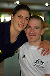 Katrina Porter and Michael Hartnett share a love of sport and a romantic involvement - Beijing Paralympic Games, 2008.