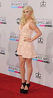 LOS ANGELES, CA - NOVEMBER 18: Ke$ha attends the 40th Anniversary American Music Awards held at Nokia Theatre L.A. Live on November 18, 2012 in Los Angeles, California.PAP1112JP313..PAP1112JP313..