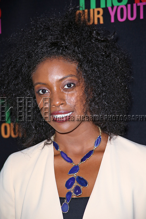 Condola Rashad attends the Broadway Opening Night Performance of 'This Is Our Youth' at the Cort Theatre on September 11, 2014 in New York City.
