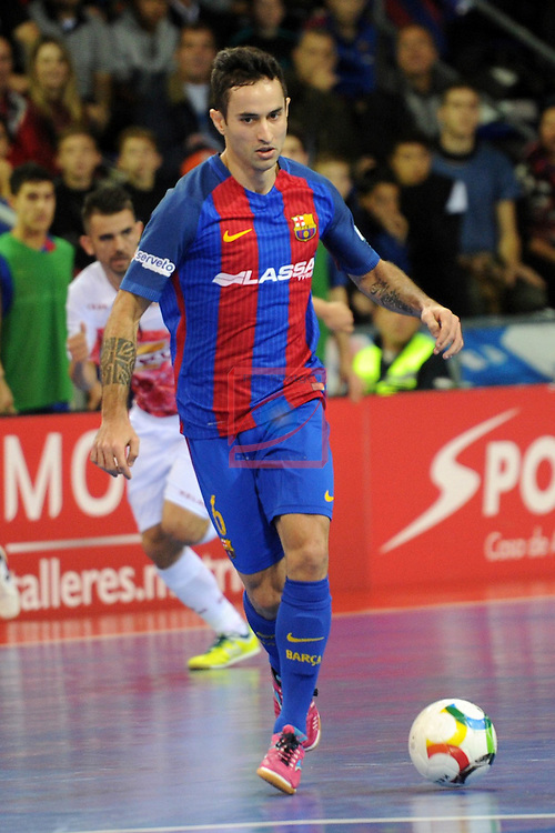 League LNFS 2016/2017 - Game 8.<br /> FC Barcelona Lassa vs ElPozo Murcia: 2-3.<br /> Joao Batista.