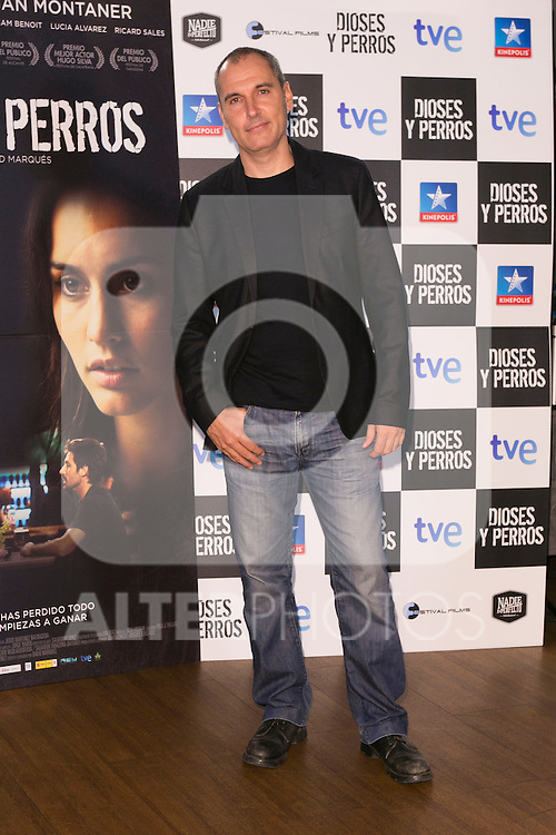 "The director David Marques attends the ""DIOSES Y PERROS "" Movie presentation at Kinepolis Cinema in Madrid, Spain. October 6, 2014. (ALTERPHOTOS/Carlos Dafonte)"