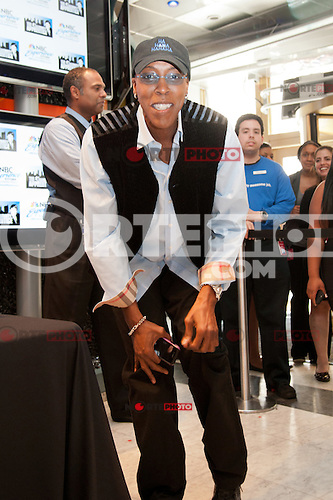 Arsenio Hall at the NBC Experience Store promoting the Celebrity Apprentice Finale show in New York City May 18, 2012. © Kristen Driscoll / Mediapunch Inc.