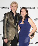 Jane Lynch and wife Laura at the 19th Annual Elton John AIDS Foundation Academy Awards Viewing Party held at The Pacific Design Center Outdoor Plaza in West Hollywood, California on August 27,2011                                                                               © 2011 DVS / Hollywood Press Agency