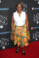 "05 August 2017 - Los Angeles, California - Tshidi Manye. ""The Lion King"" Sing-Along Screening. Photo Credit: F. Sadou/AdMedia"